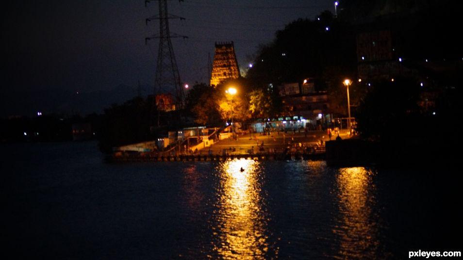 Night in India