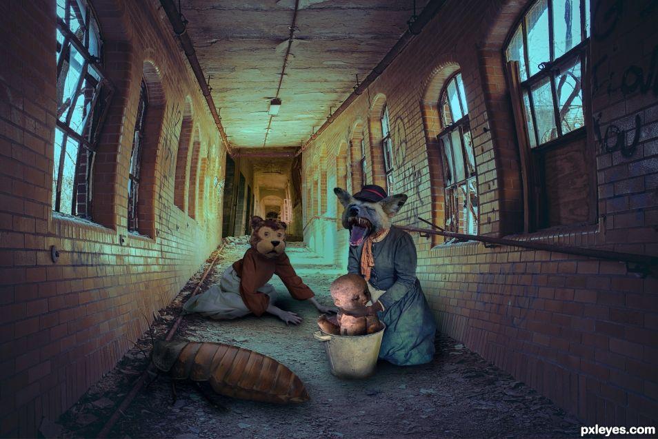 Nightmare corridor