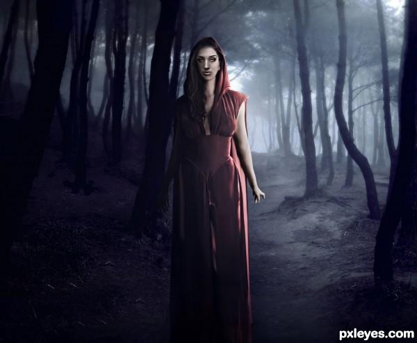 Nicole, The Red Riding Hood