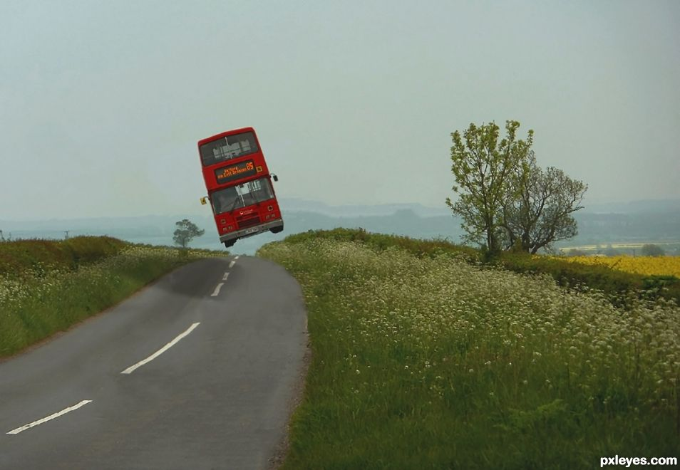 Creation of Double Decker Mystery Tour: Final Result