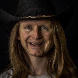 Creepy Cowboy Picture