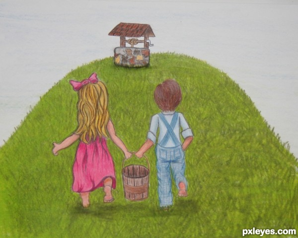 Jack and jill picture by artbybambi for nursery rhymes for Jack and jill house