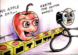 An Apple a Day Picture