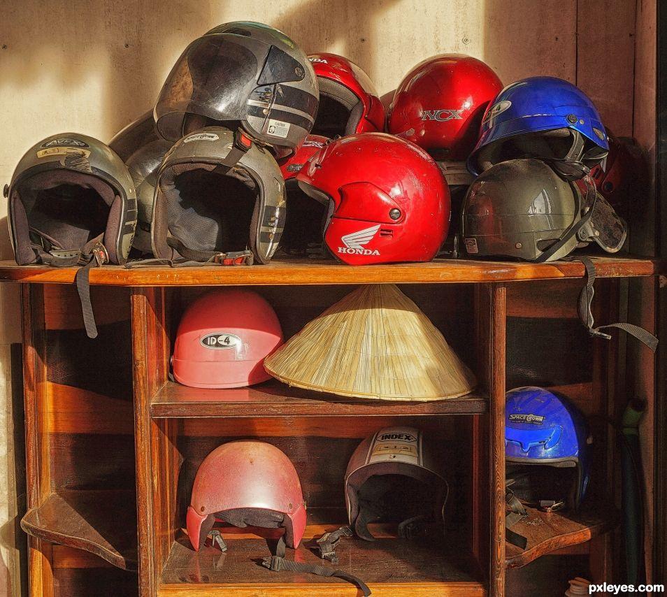 Odd Helmet