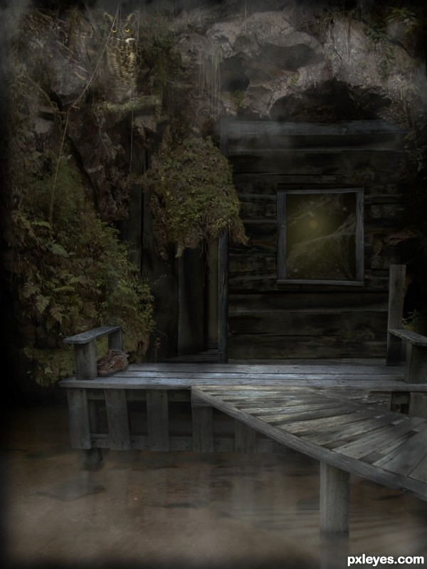 Hideout photoshop picture