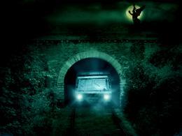 MoonNightatrailwaytunnel