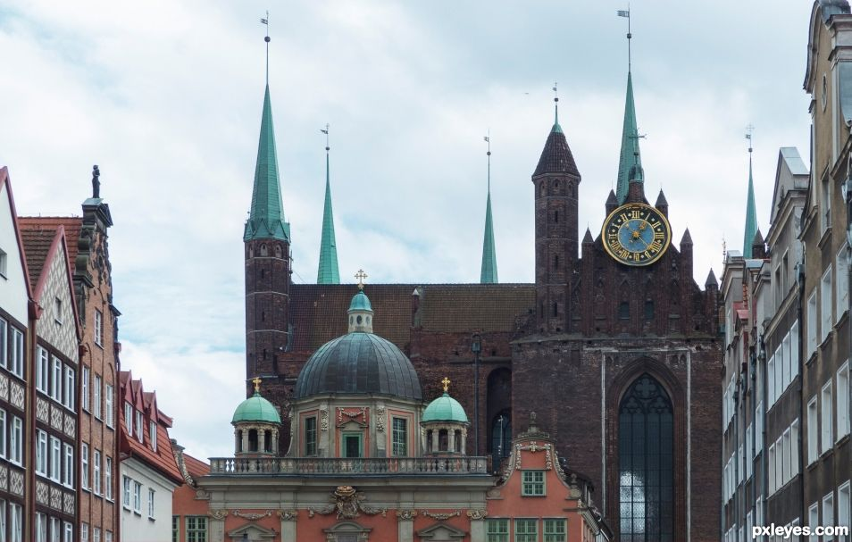 Gdansk, St Marys church