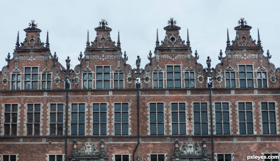 Hanseatic traders houses