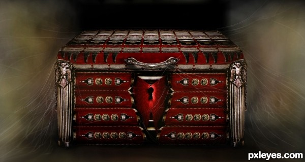 treasure chest photoshop picture)