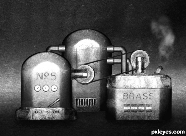 Ye olde steam machine