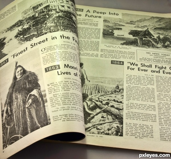 Newspaper from 1963
