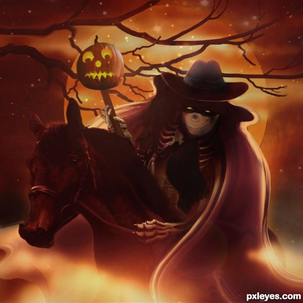 Fright Night Ride photoshop picture