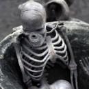 old skeleton photoshop contest