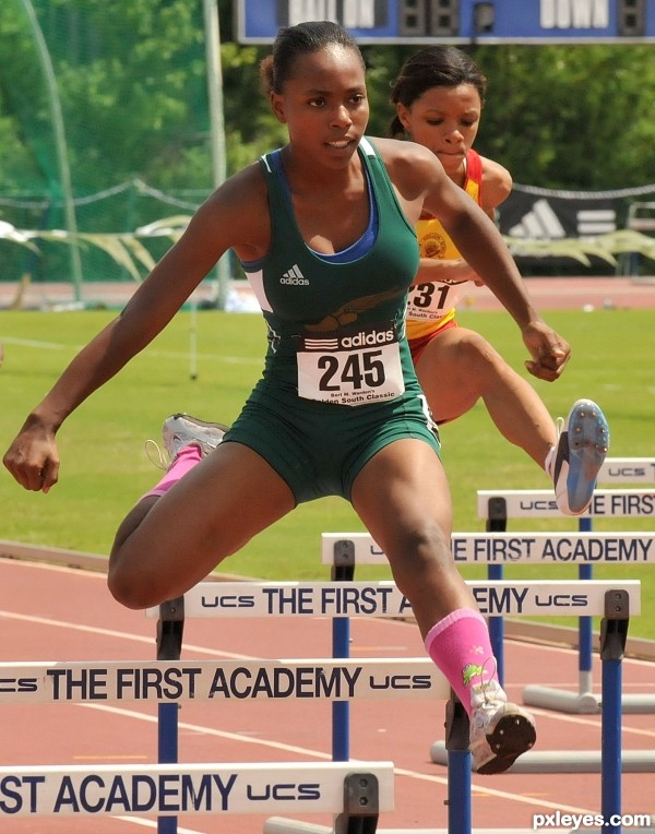 Womens hurdles
