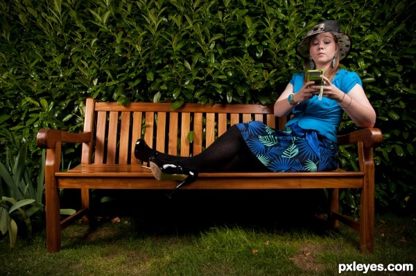 Wench on a Bench