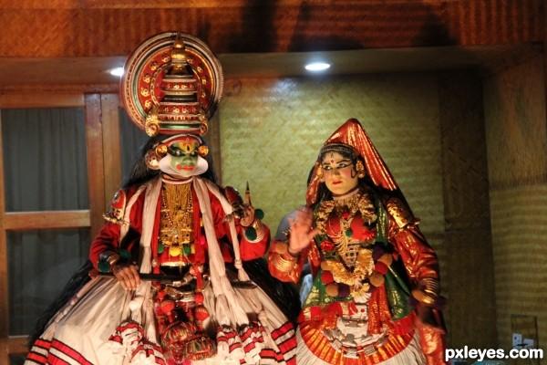 Indian art show