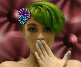 flower poff