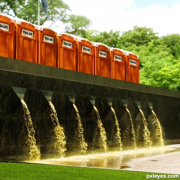 Pee Fountain