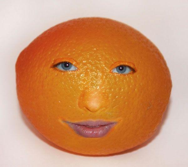 took the orange tan too far