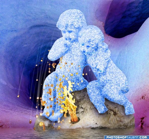 playground for ice kids!
