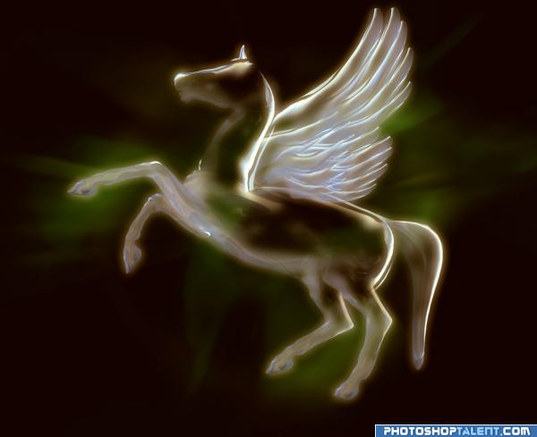 Creation of Transparent Pegasus : Final Result