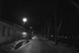 University at night