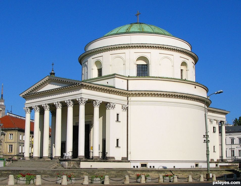 Warsaw, church