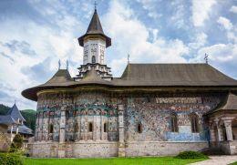 Monastery church, Gura Humorului