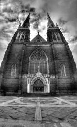 Church in BW