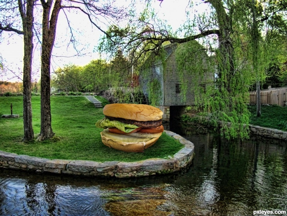 Burger by the Mill