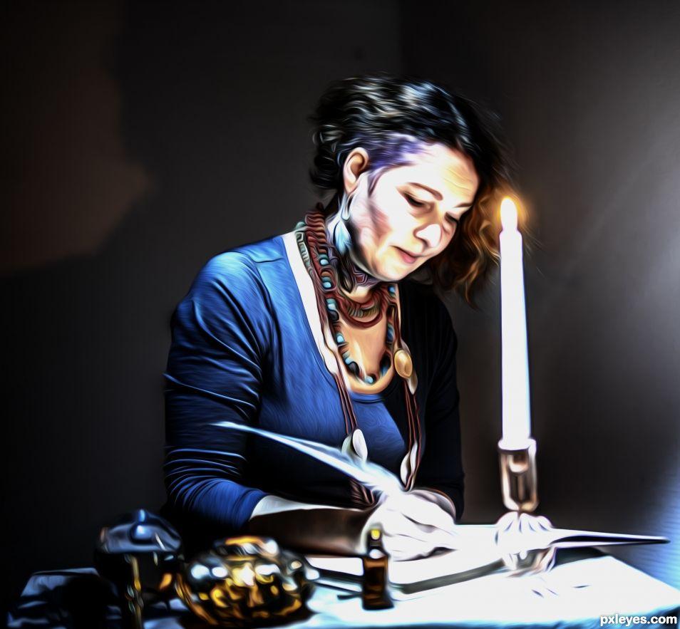 The written letter