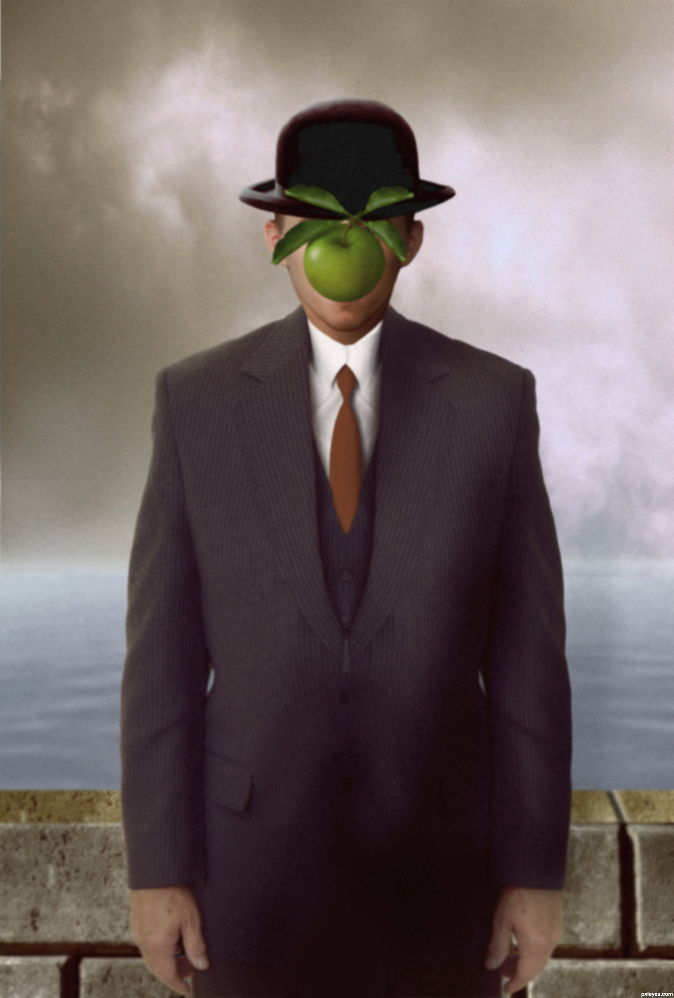 Rene Magritte The Son Of Man Google Images