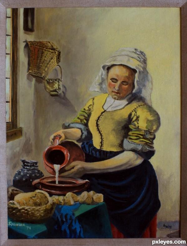 Vermeer copy 1974