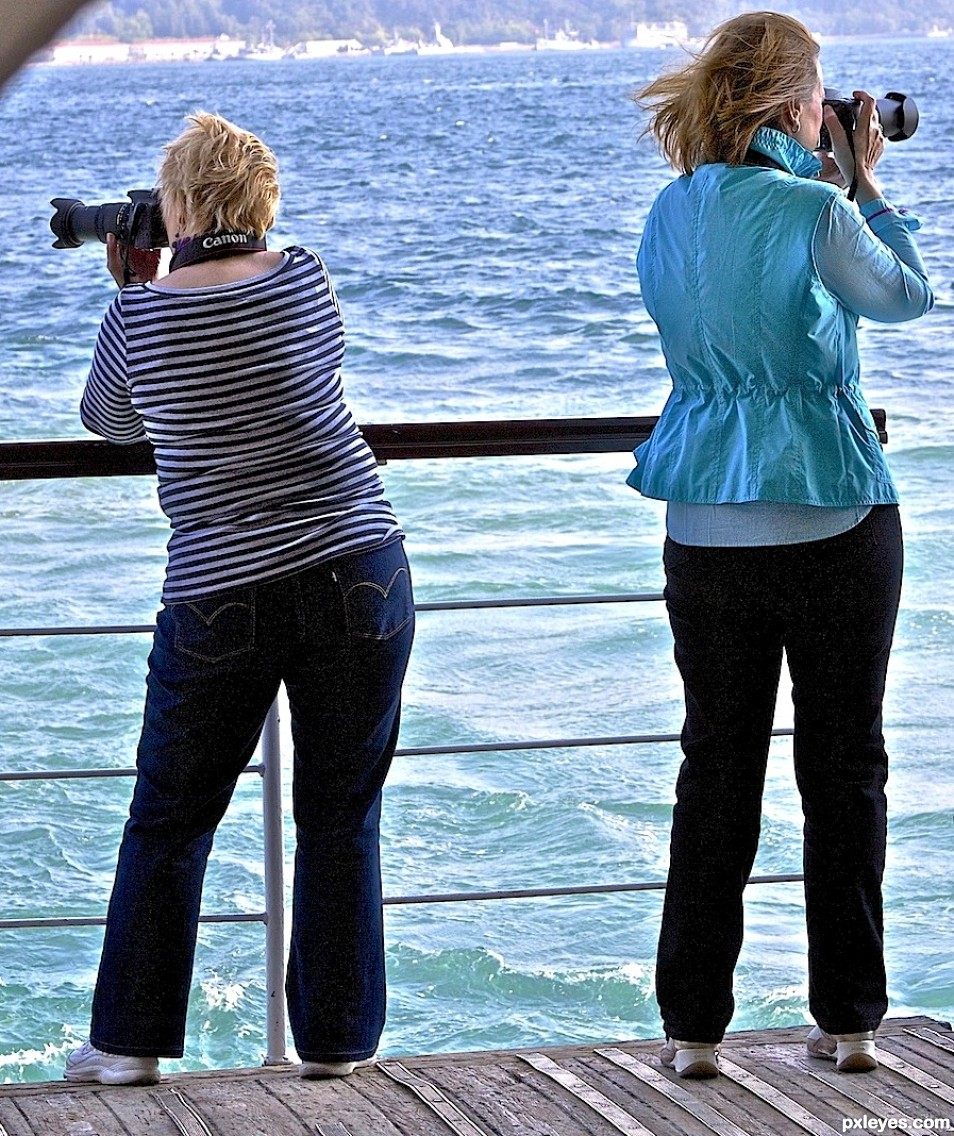 photographers with opposite views