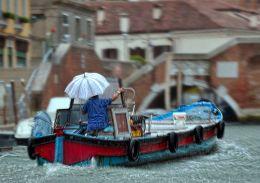 Rainy Murano