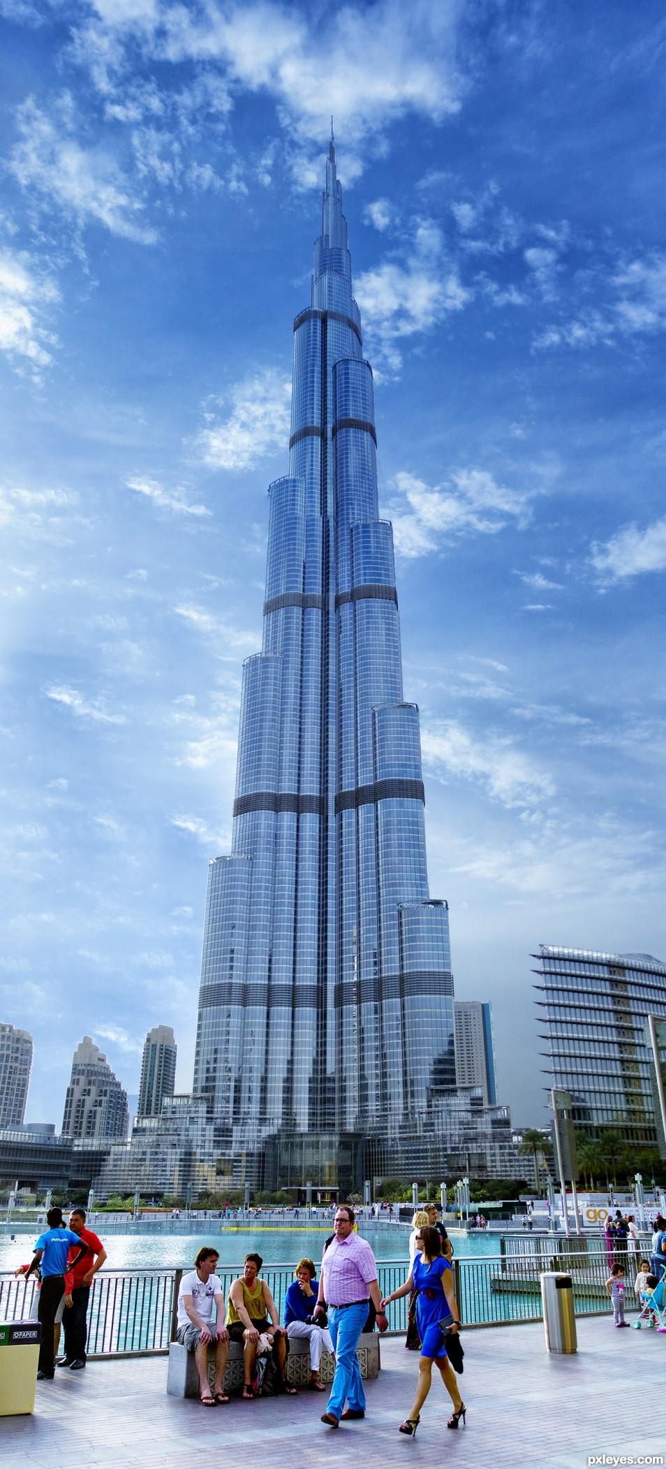 Worlds largest - Burj Al khalifa