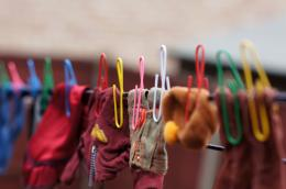 Mini clothespins for dolls