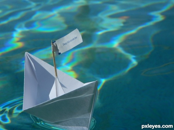 A Paper Boat Can Go Far
