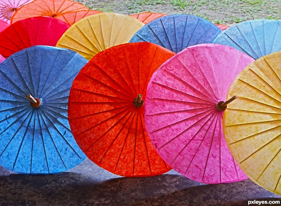 Picture Perfect Paper Parasols