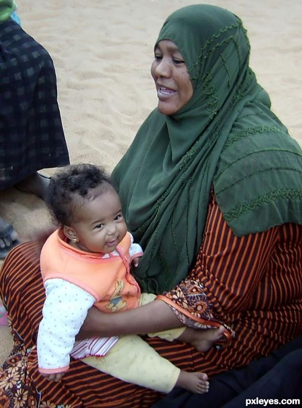 Egyptian baby