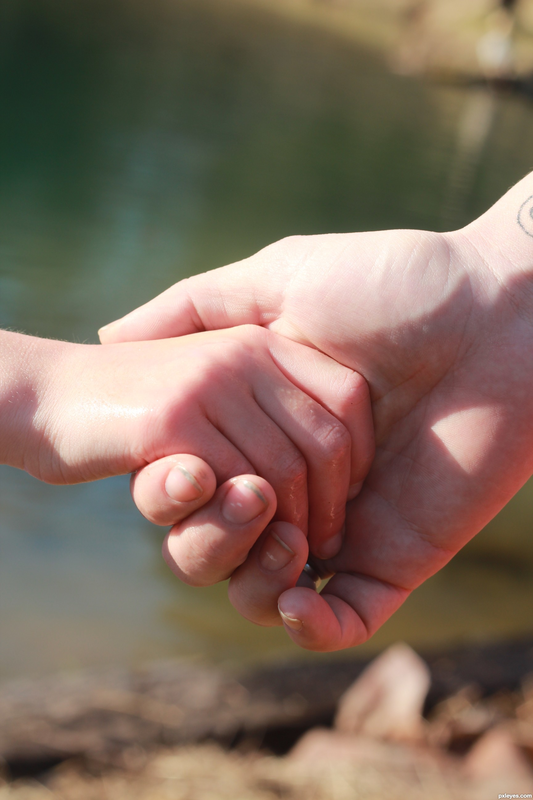 i wanna hold your hand picture by twilightmuse for parent child
