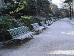 Benches frost
