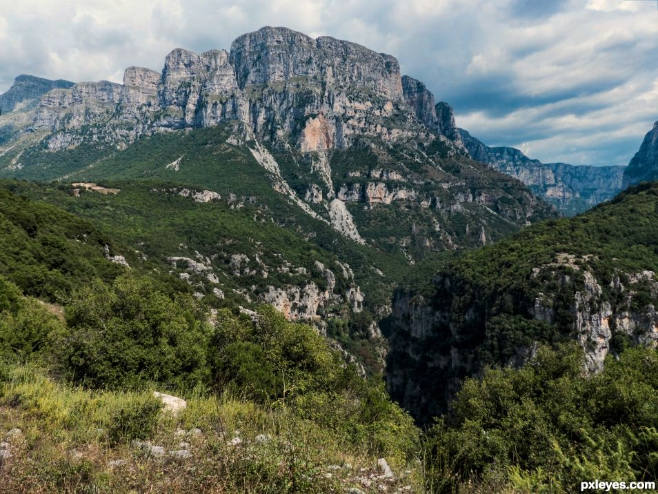 Vikos national park, Greece