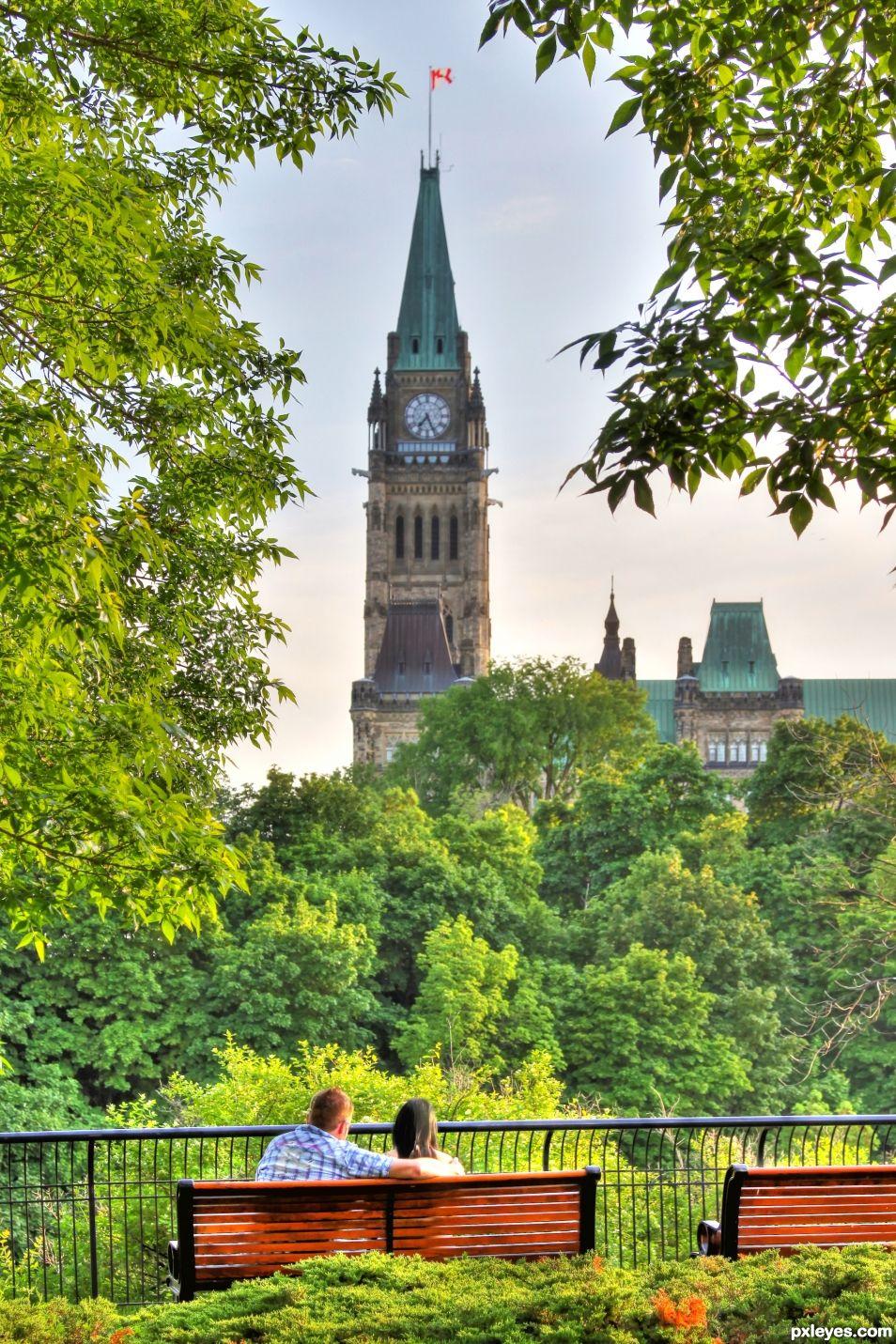 Peace Tower Ottawa ON