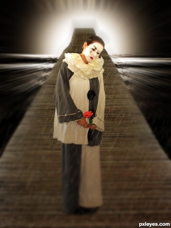 Lonely Pierrot