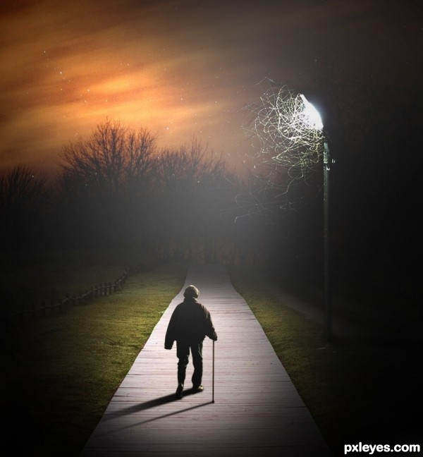 Pathway of Darkness photoshop picture