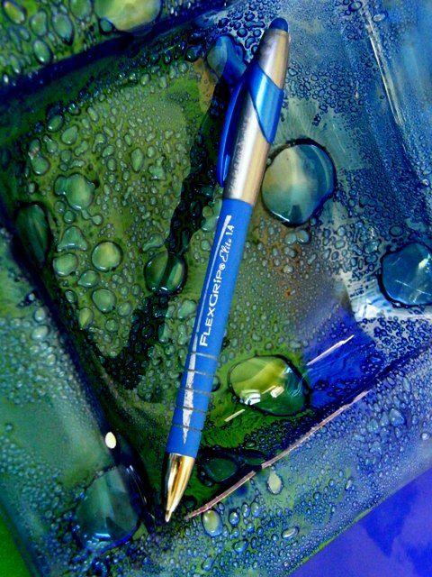 Debs Glass & Pen