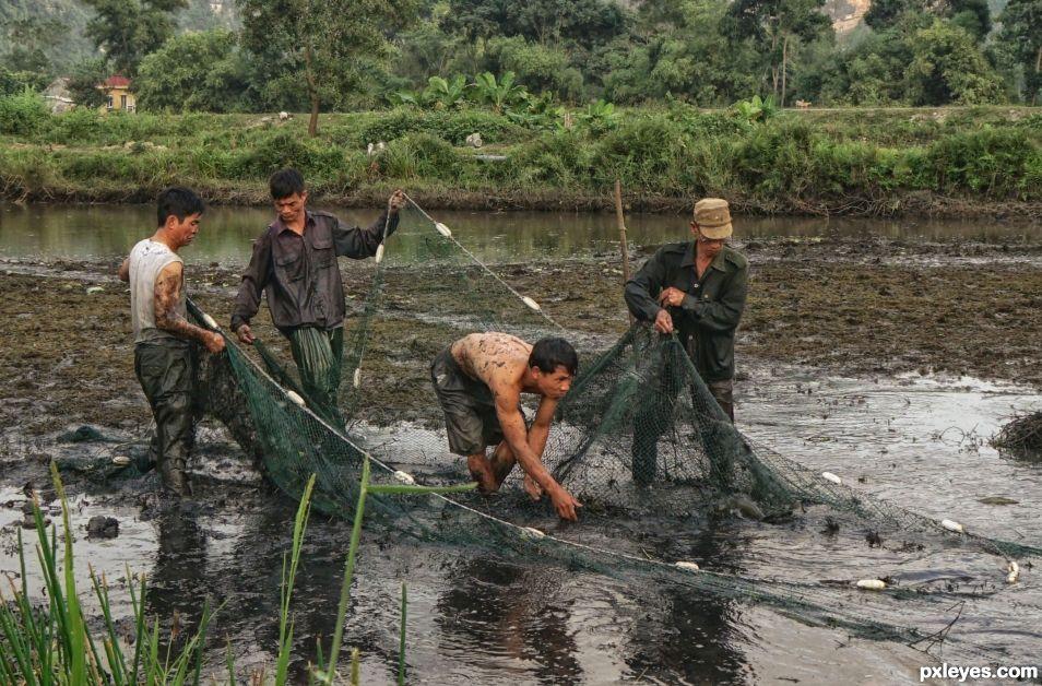 Fishermen of Tam Coc