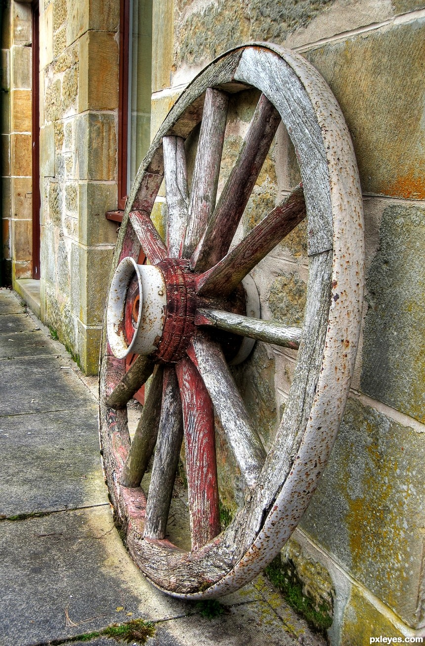 Wagon Wheel photoshop picture)