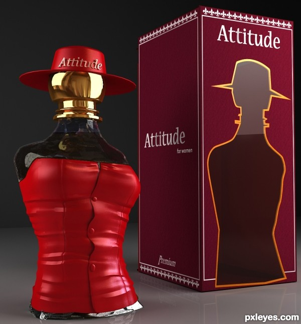 Creation of Attitude perfume: Final Result